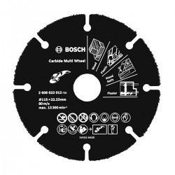 Carbide Multi Wheel 115 Mm
