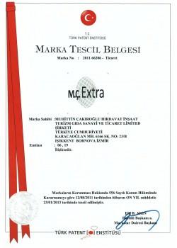 MÇ Extra Patent